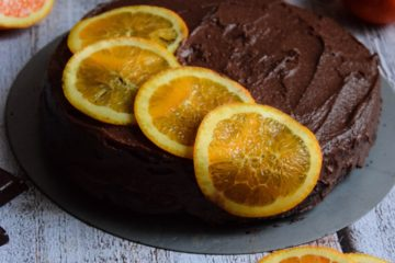 wegański torcik czekoladowy