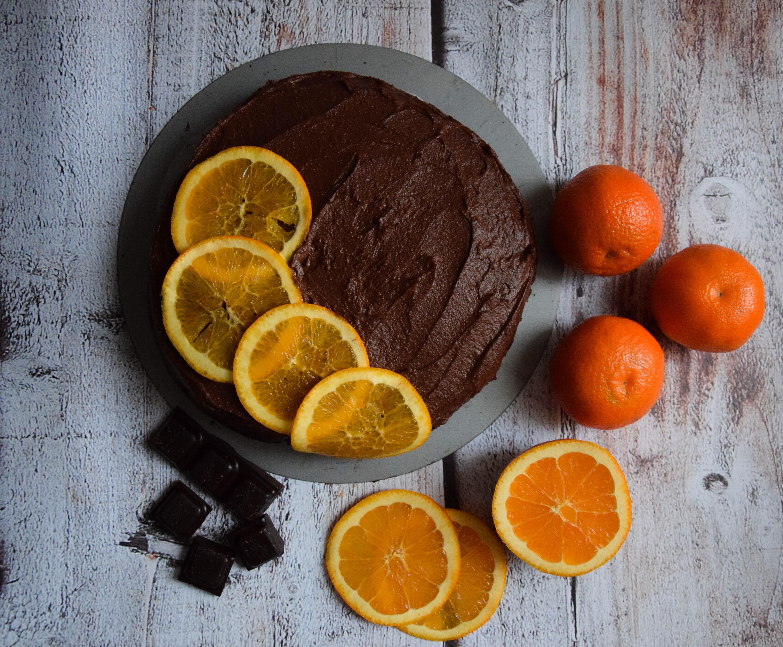 wegański tort czekoladowy
