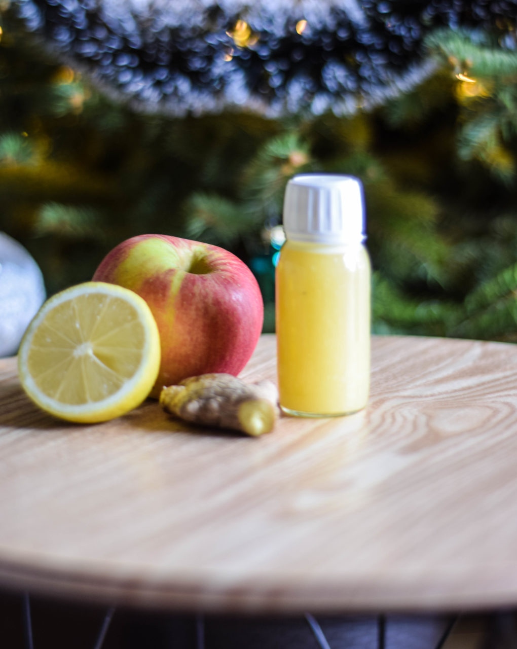 shot witaminowy imbir cytryna jabłko