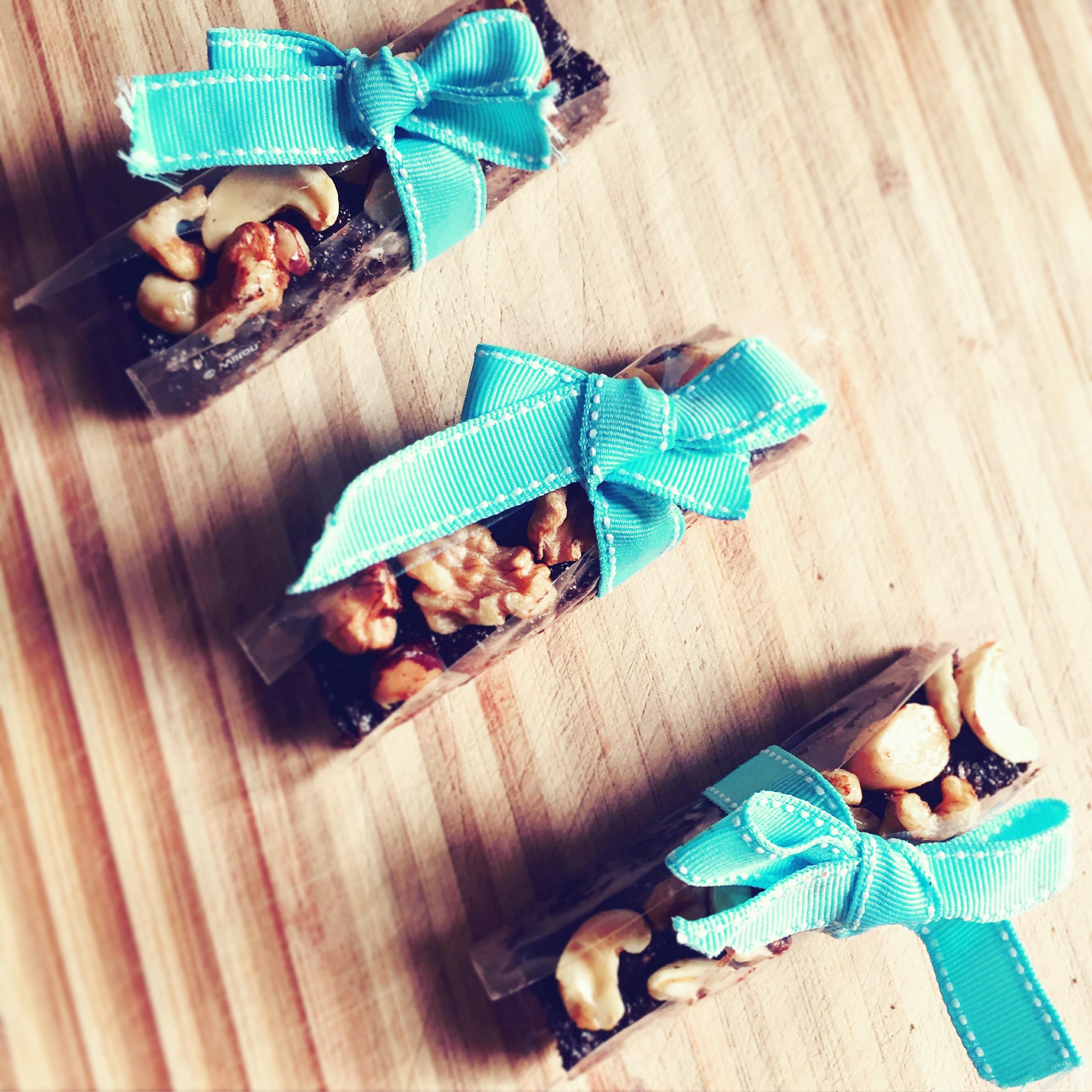 Proteinowe batoniki czekoladowe