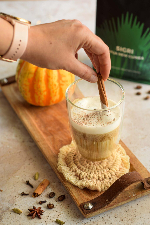 latte dyniowe