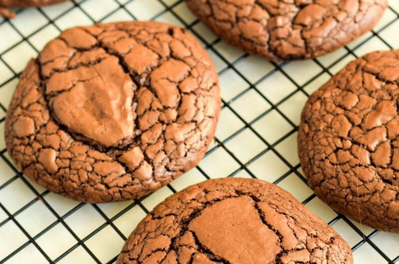 Czekoladowe ciastka brownie
