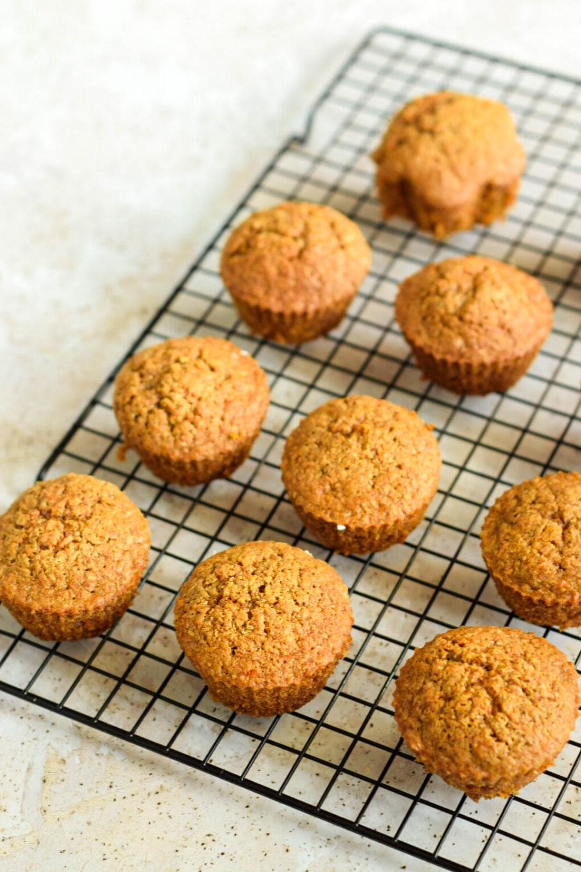 muffinki marchekowe z kremem waniliowym